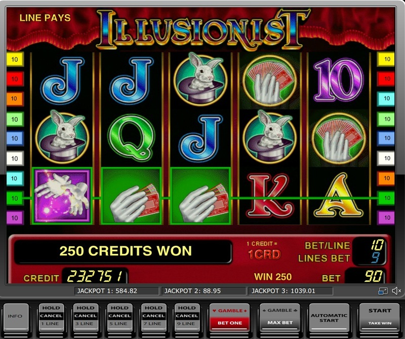 Игровые аппараты бесплатно иллюзионист играть онлайн в вулкан игровые автоматы бесплатно